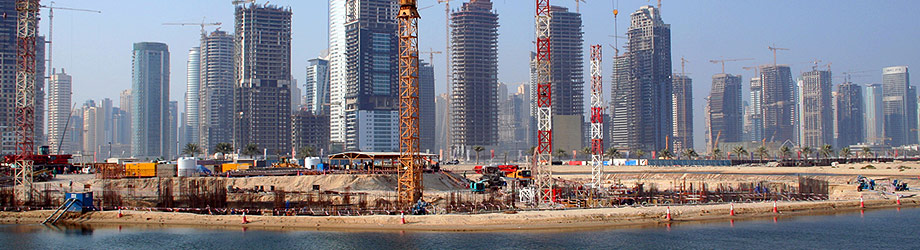 Construction boom at the Gulf